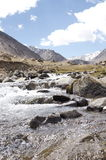 świeża woda od himalaje Fotografia Royalty Free