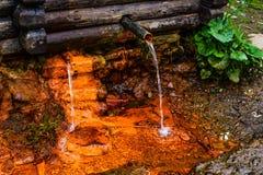 Świeża woda pełno żelazo obrazy stock