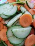 świeża zdrowa sałatka zdjęcie stock