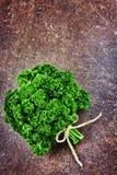 Świeża zielona wiązka pietruszka Zdjęcie Royalty Free