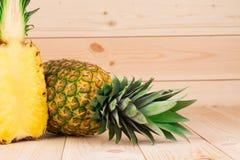 świeże ananasy Zdjęcie Stock