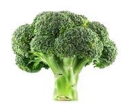 świeże brokułu pojedynczy Obraz Royalty Free
