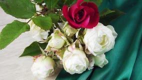 świeże bukiet róże fotografia stock