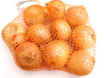 Świeże cebule Fotografia Royalty Free