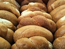 Świeże chlebowe rolki, bagels Zdjęcia Royalty Free