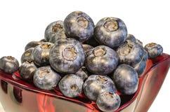 Czarna jagoda w szkle 2 Fotografia Stock