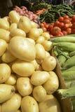 Świeże grule i warzywa Zdjęcie Royalty Free