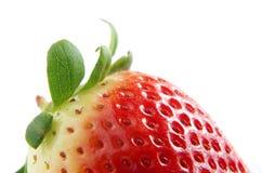Świeże i zdrowe truskawki Zdjęcia Stock