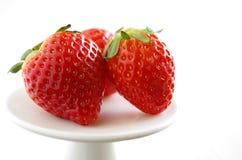 Świeże i zdrowe truskawki Obraz Royalty Free