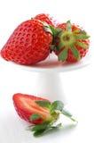 Świeże i zdrowe truskawki Zdjęcia Royalty Free