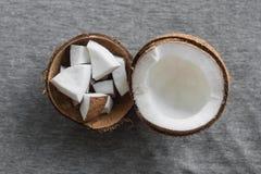 świeże kokosów Zdjęcie Royalty Free