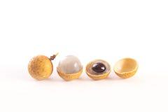 Świeże longan owoc lub smoka oko, Obraz Stock