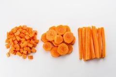 Świeże marchewki Zdjęcie Stock