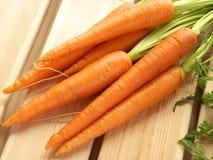 Świeże marchewki. Fotografia Royalty Free