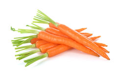 Świeże marchewki, dziecko marchewka obrazy stock