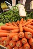 Świeże marchewki i inni warzywa Zdjęcia Stock