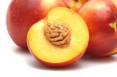 świeże nektaryna zdjęcia royalty free