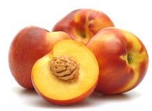 świeże nektaryny zdjęcia stock