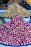 Świeże oliwki Fotografia Royalty Free