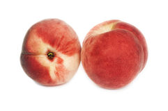 świeże organicznie brzoskwinie zdjęcie stock