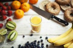 Świeże owoc smoothy Zdjęcia Royalty Free