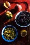 Świeże owoc w zmierzchu świetle fotografia royalty free