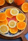 świeże owoce cytrusowe Fotografia Stock