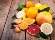 świeże owoce cytrusowe Zdjęcie Stock