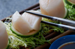 świeże owoce morza Fotografia Stock