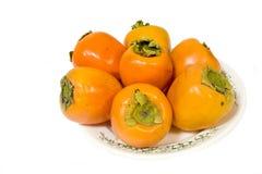 świeże persimmon Obrazy Royalty Free
