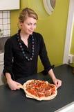 świeże pizza Fotografia Stock