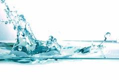 świeże plusk wody obraz stock