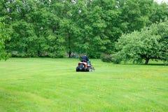 świeże pokrojone trawnika Zdjęcia Royalty Free