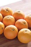 świeże pomarańcze Zdjęcie Royalty Free