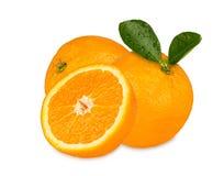 Świeże pomarańcze Fotografia Royalty Free