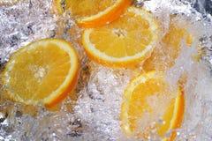 świeże pomarańcze obraz stock