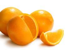 świeże pomarańcze Obrazy Stock
