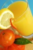 świeże pomarańcze drinka soku zdjęcia royalty free