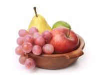 świeże puchar owoc Obrazy Royalty Free