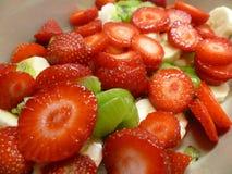 świeże sałatka owocowa fotografia stock