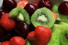 świeże sałatka owocowa Obrazy Stock