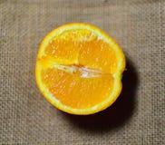 świeże soczysta pomarańcza Zdjęcia Royalty Free