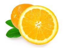 świeże soczyste pomarańcze Obraz Stock