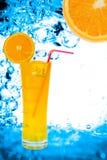 świeże sok pomarańczowy obrazy stock