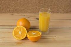 świeże soku pomarańcze Zdjęcie Royalty Free