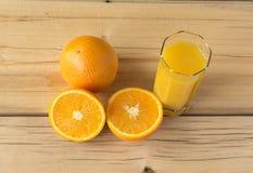 świeże soku pomarańcze Obrazy Royalty Free