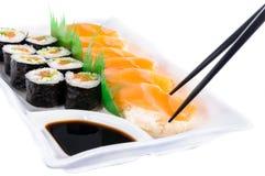 świeże sushi Zdjęcia Royalty Free