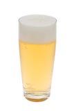 świeże szklankę piwa Zdjęcia Stock