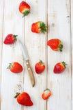 świeże truskawki Obrazy Stock