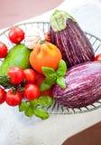 świeże warzywa misek Obrazy Stock